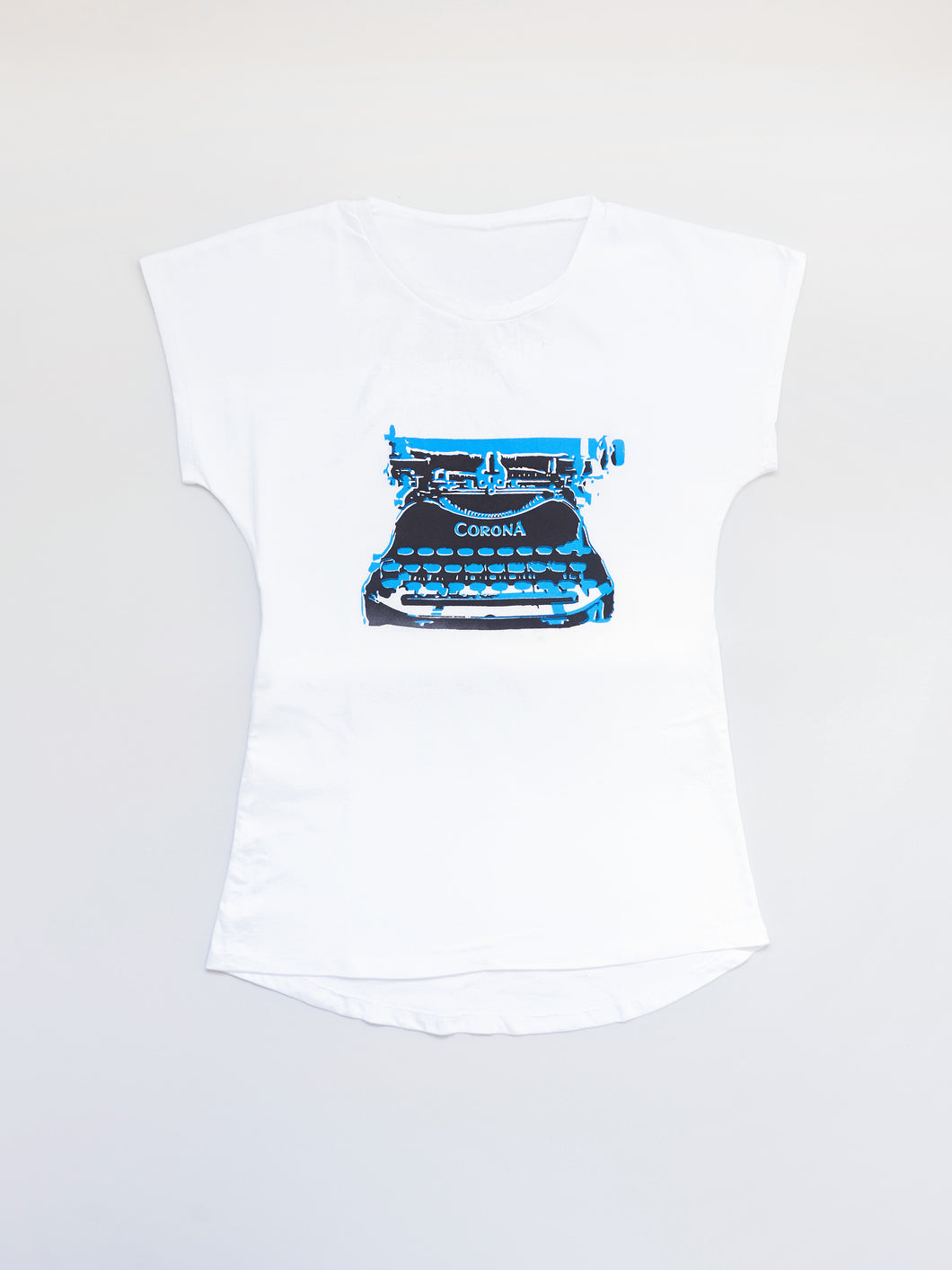 Typewriter on The Perfect Tee