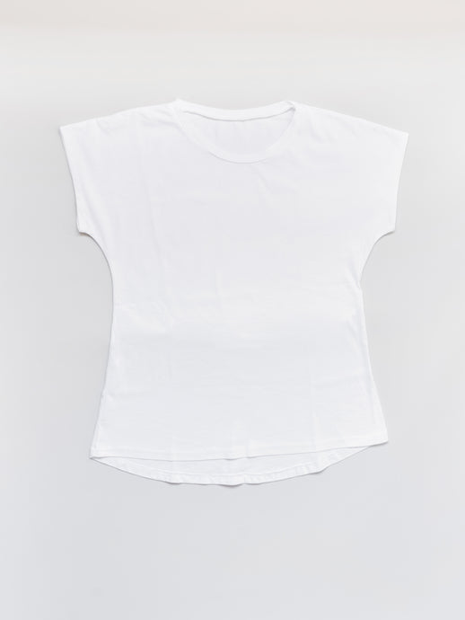 The Perfect Tee in White Organic Cotton