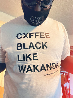 WAKANDAN BLACK CXFFEE