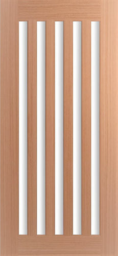 Five Lite - Vertical Slim Lite Door