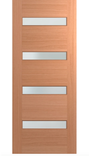 Four Lite - Horizontal Slim Lite Door
