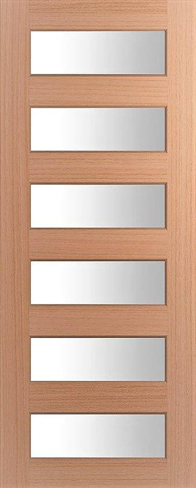 Six Lite - Horizontal Wide Lite Door