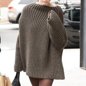 Poptia Oversized Exaggerated Wide Sleeve Sweater