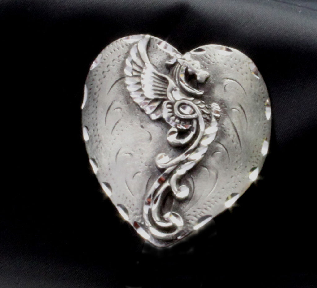 Dragon on a Heart