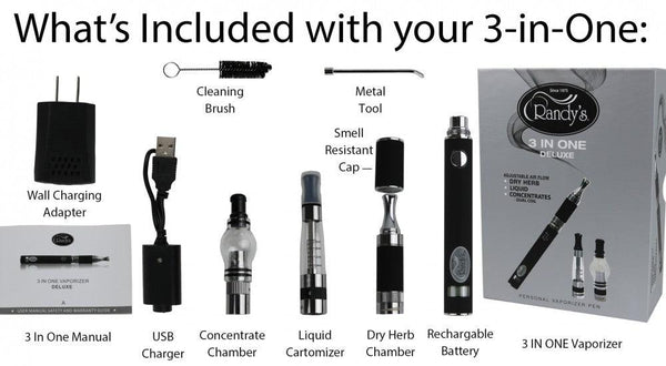 Randy's 3-in-1 Vaporizer
