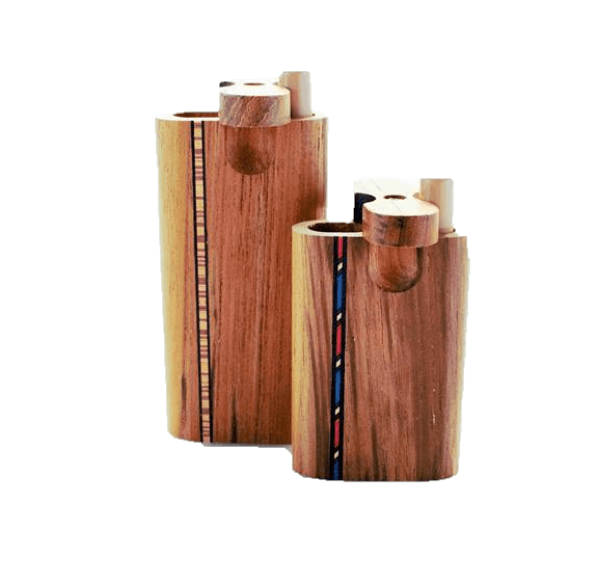 Mill Pipe Teak Inlay Dugouts