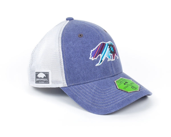 Grassroots Blue Dad Hat