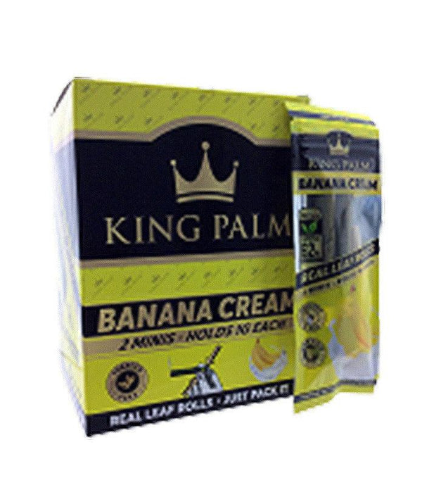 King Palm Banana Cream Mini Rolls