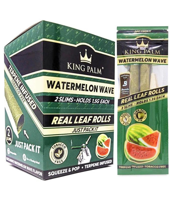 King Palm Slim Watermelon Wave Rolls