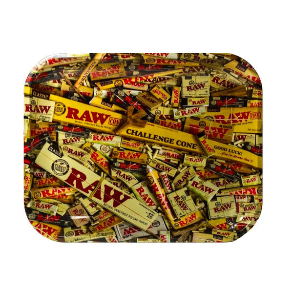 Raw Collage Trays