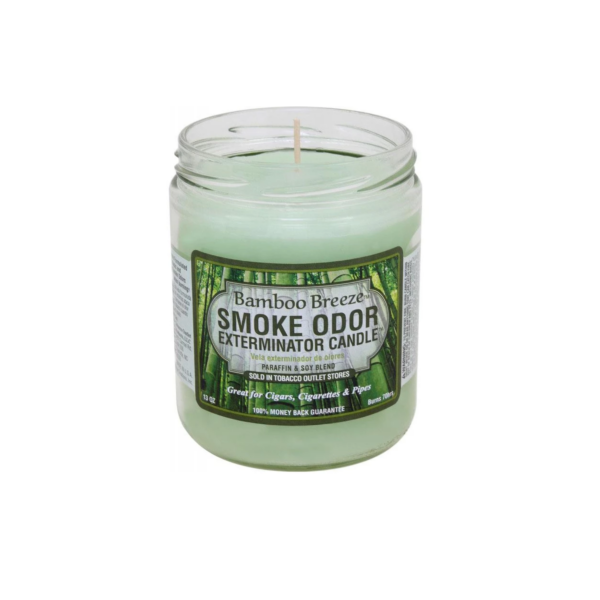 Bamboo Breeze Smoke Odor Exterminator Candle