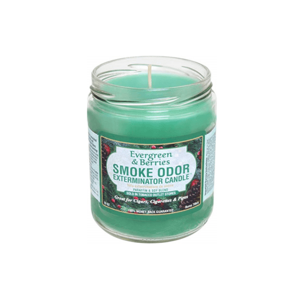 Evergreen & Berries Smoke Odor Exterminator Candle
