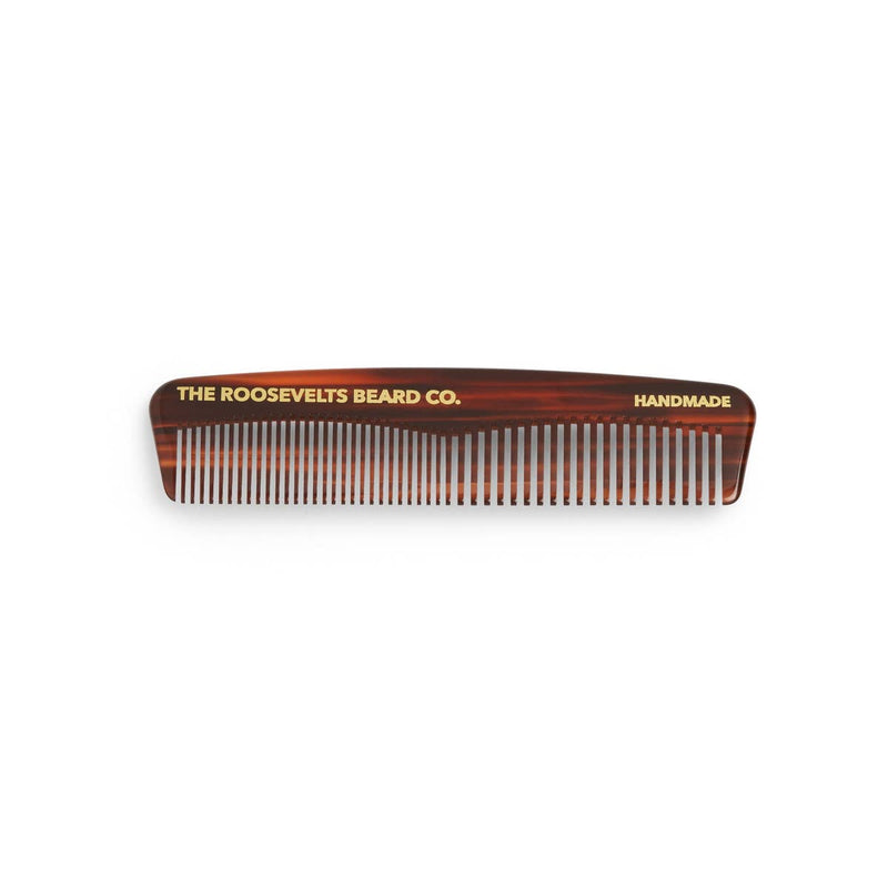 The Roosevelts Beard Company Pocket Beard Comb