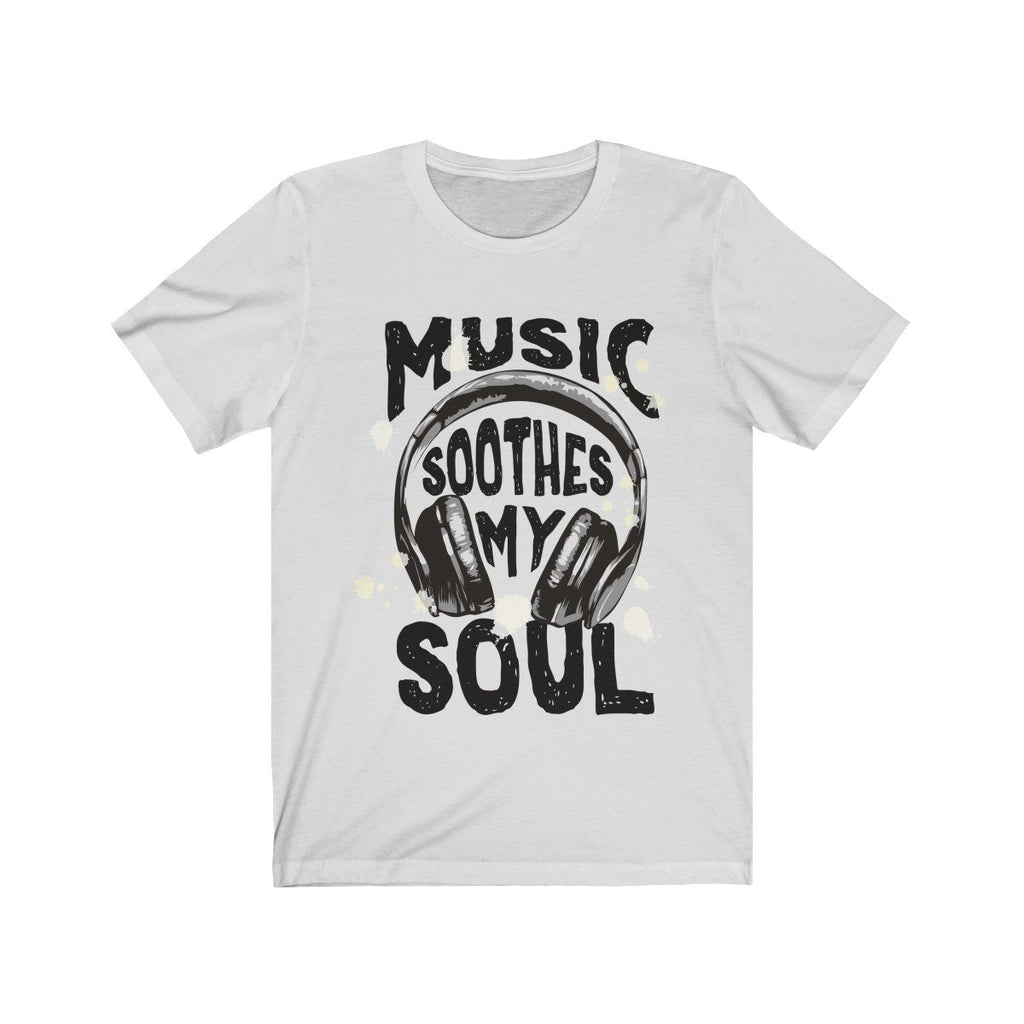 Music Soothes My Soul Headphone Tee