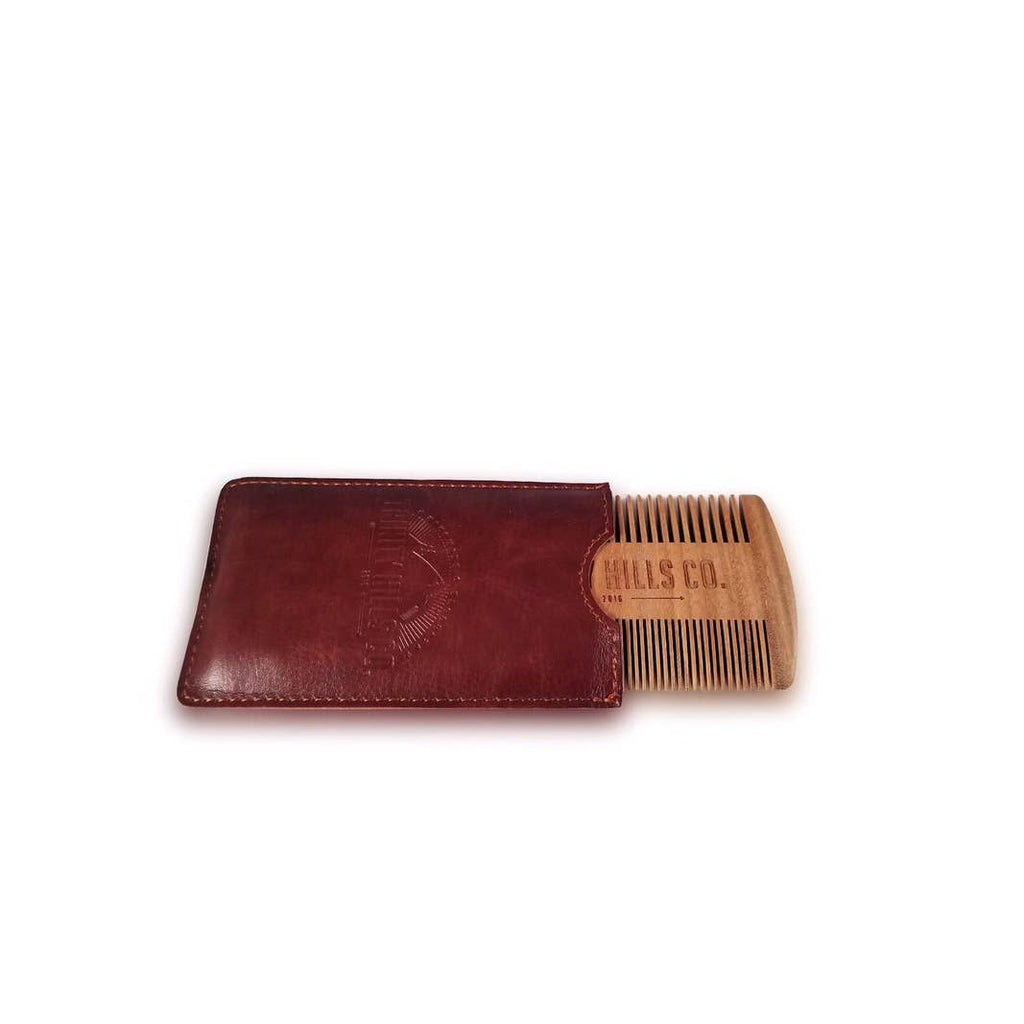 Trinity Hills Co Dual Sandalwood Beard Comb