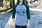 The Trees Baseball Tee