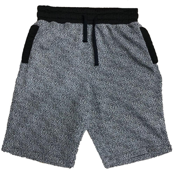 Gray Contrast Shorts