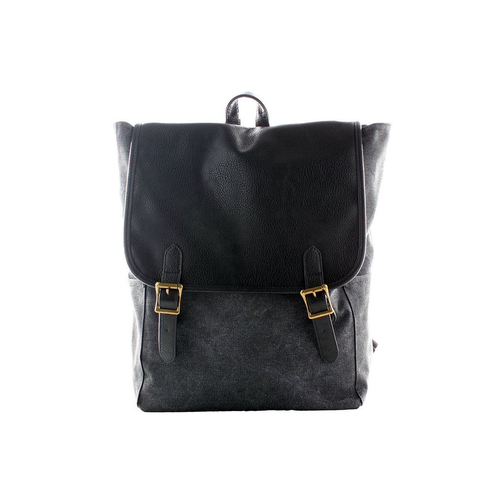 Shaun Canvas Cinched Backpack