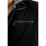 Kendrick Cotton Jacket - Black