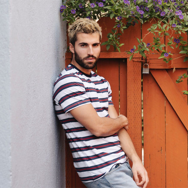Mateo Striped Tee