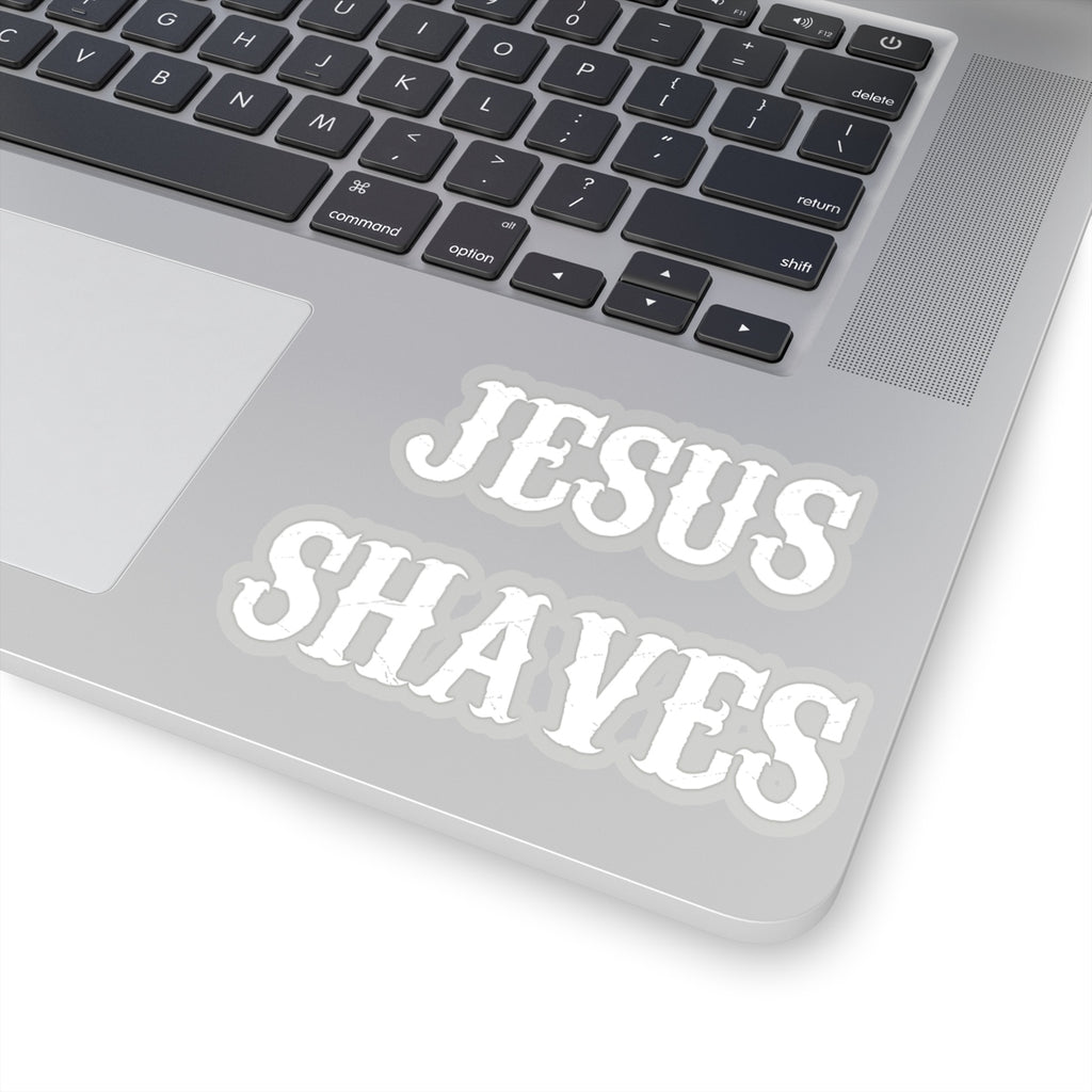 'Jesus Shaves' Sticker