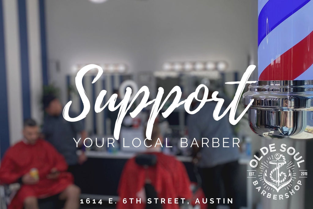 SUPPORT YOUR LOCAL BARBER GIFT CARD
