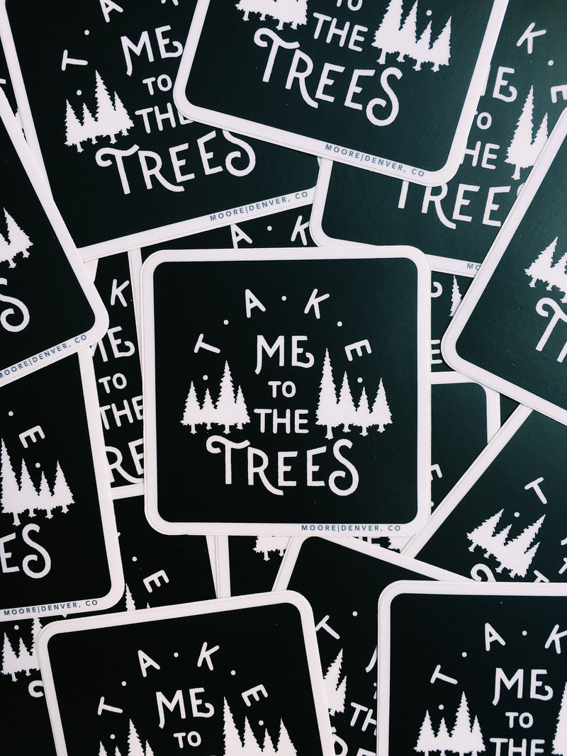 The Trees Sticker