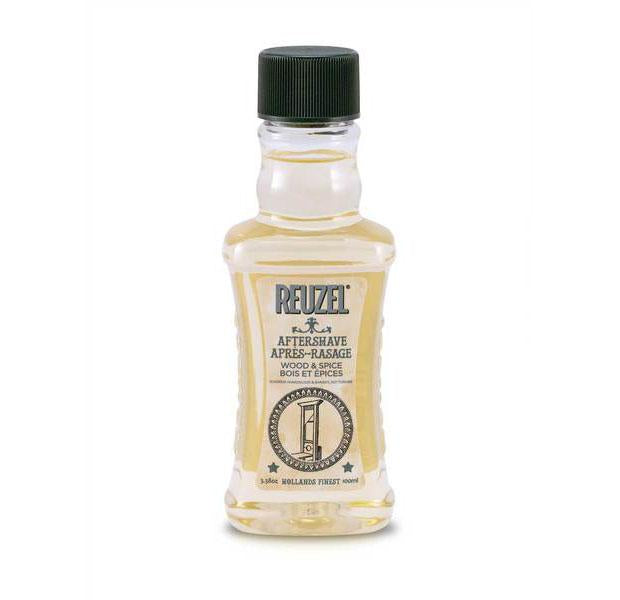 Reuzel Wood & Spice Aftershave 3.38oz