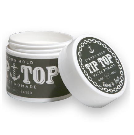 Tip Top Strong Hold Matte Pomade