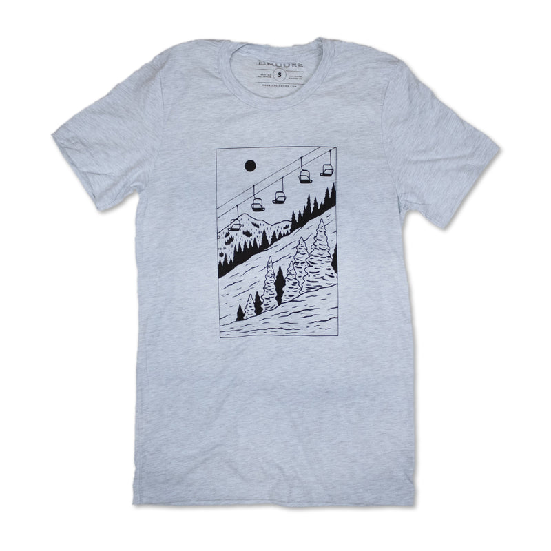 Slope Tee - Ice Blue