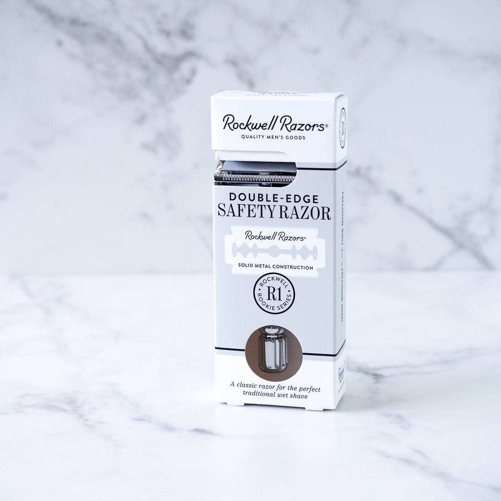 Rockwell R1 White Chrome Razor