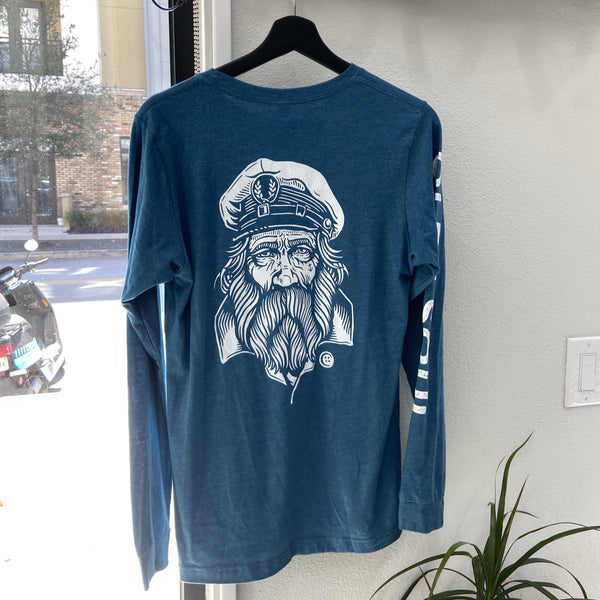 Sailor Jack Long Sleeve Tee - Teal