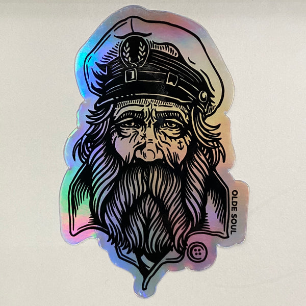 Sailor Jack Holographic Sticker