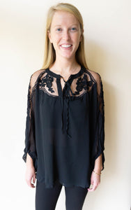 The Maggies Top, Black