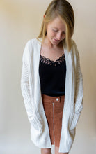 Load image into Gallery viewer, Cardi For The Party Cardigan, Ivory