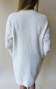 Cardi For The Party Cardigan, Ivory
