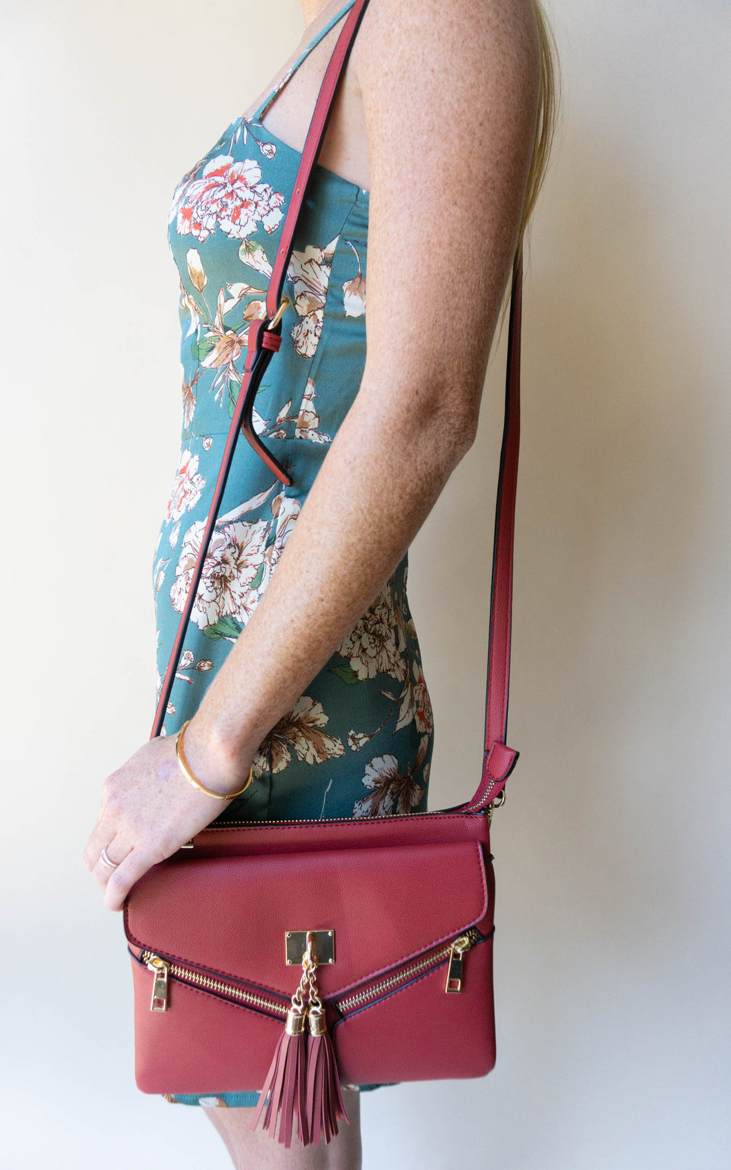 The Virginia Purse, Red