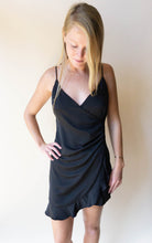 Load image into Gallery viewer, The Neck Breaker Dress, Black