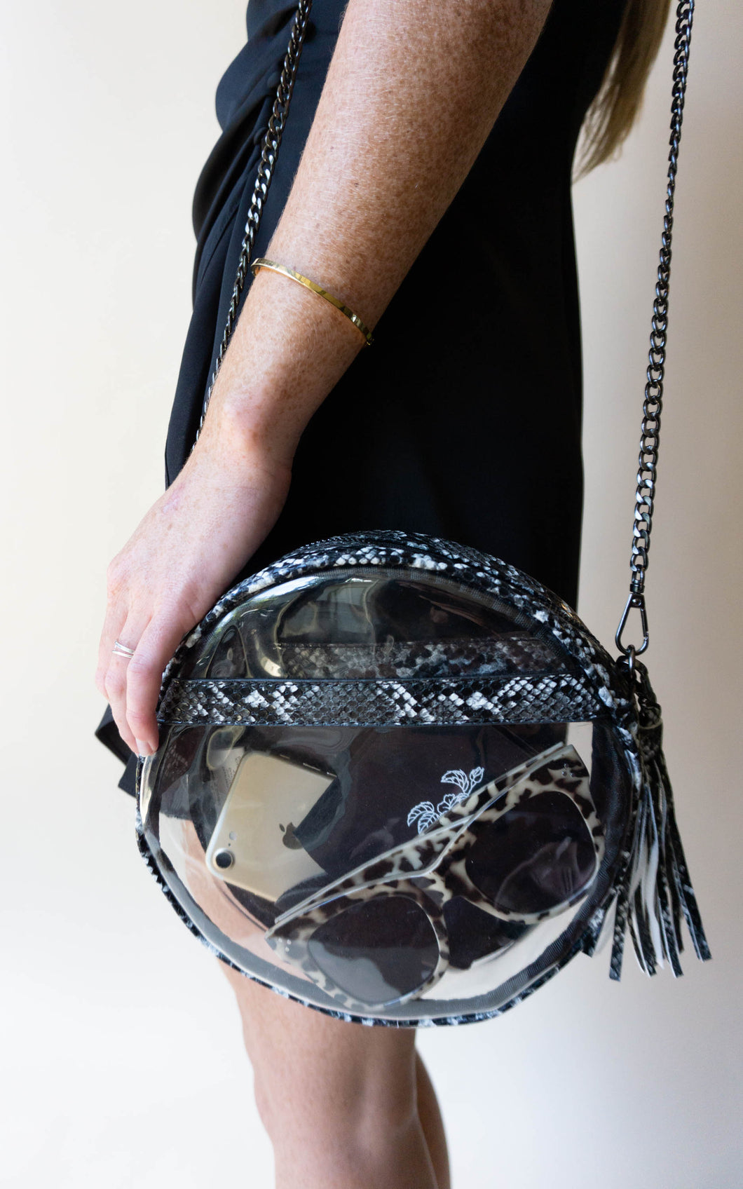 Swift As A Snake Purse, Black