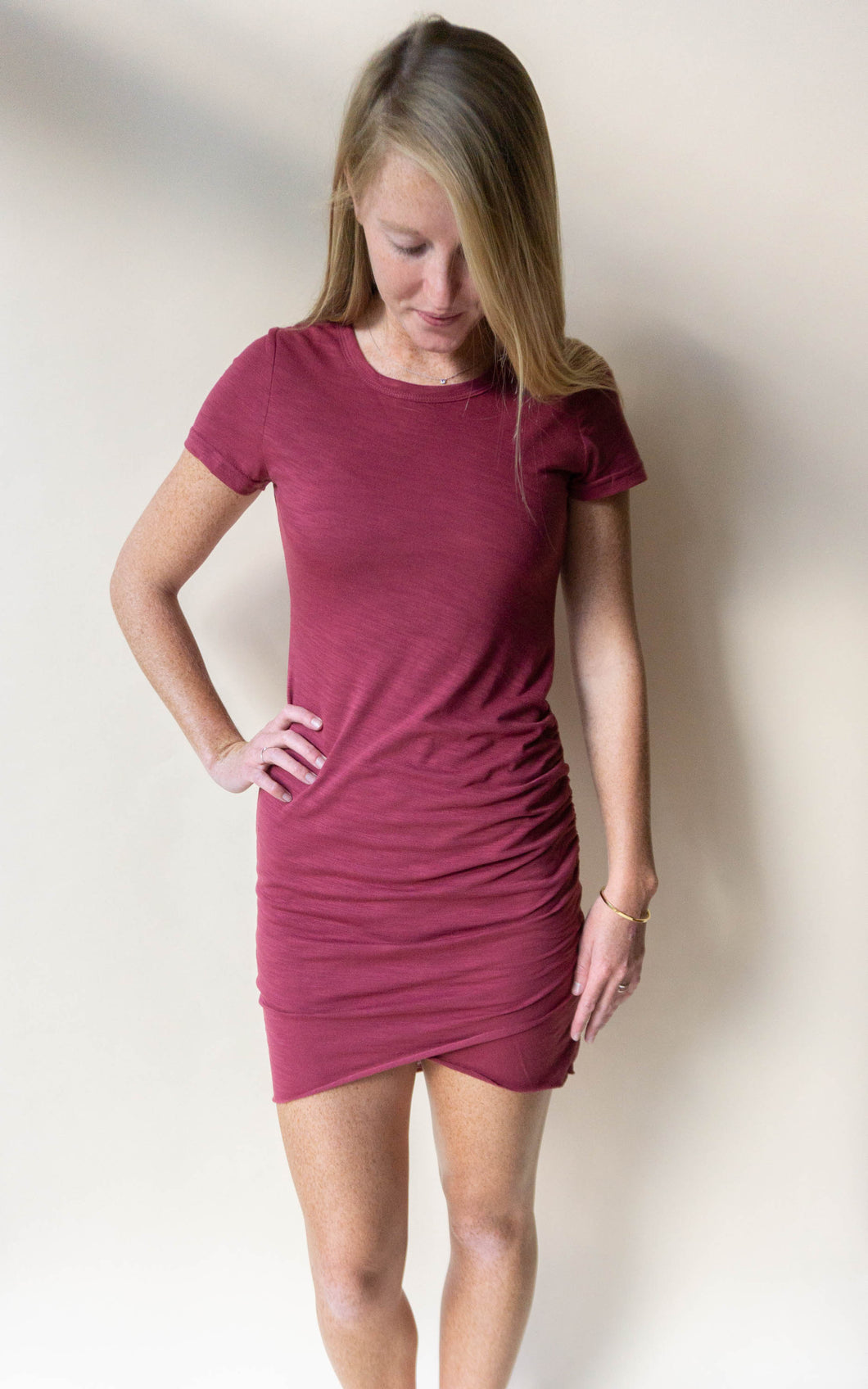 The Regina Dress, Berry