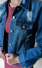 Load image into Gallery viewer, The Outsiders Called Jacket, Denim