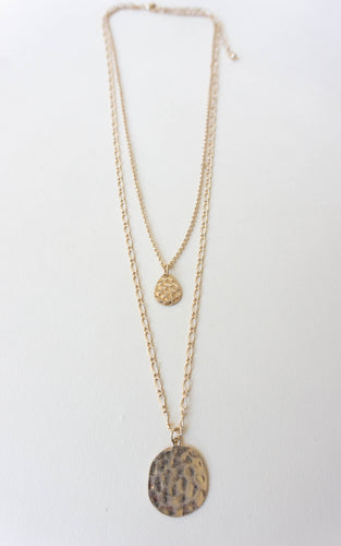 Layering Season Necklace, Gold