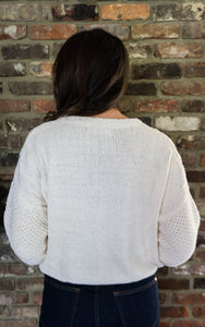 Your Favorite Sweater, Ivory