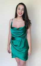 Load image into Gallery viewer, All Shook Up Dress, Emerald