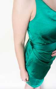All Shook Up Dress, Emerald