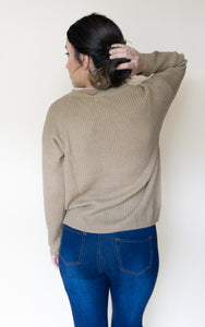 Never Neutral Sweater, Camel