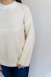 Snow Day Sweater, Ivory