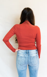 The Paula Jane Top, Crimson
