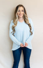 Load image into Gallery viewer, Ice Breaker Sweater, Light Blue