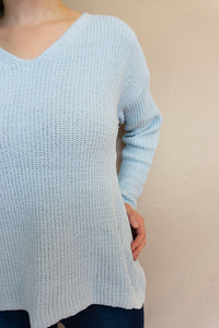 Ice Breaker Sweater, Light Blue